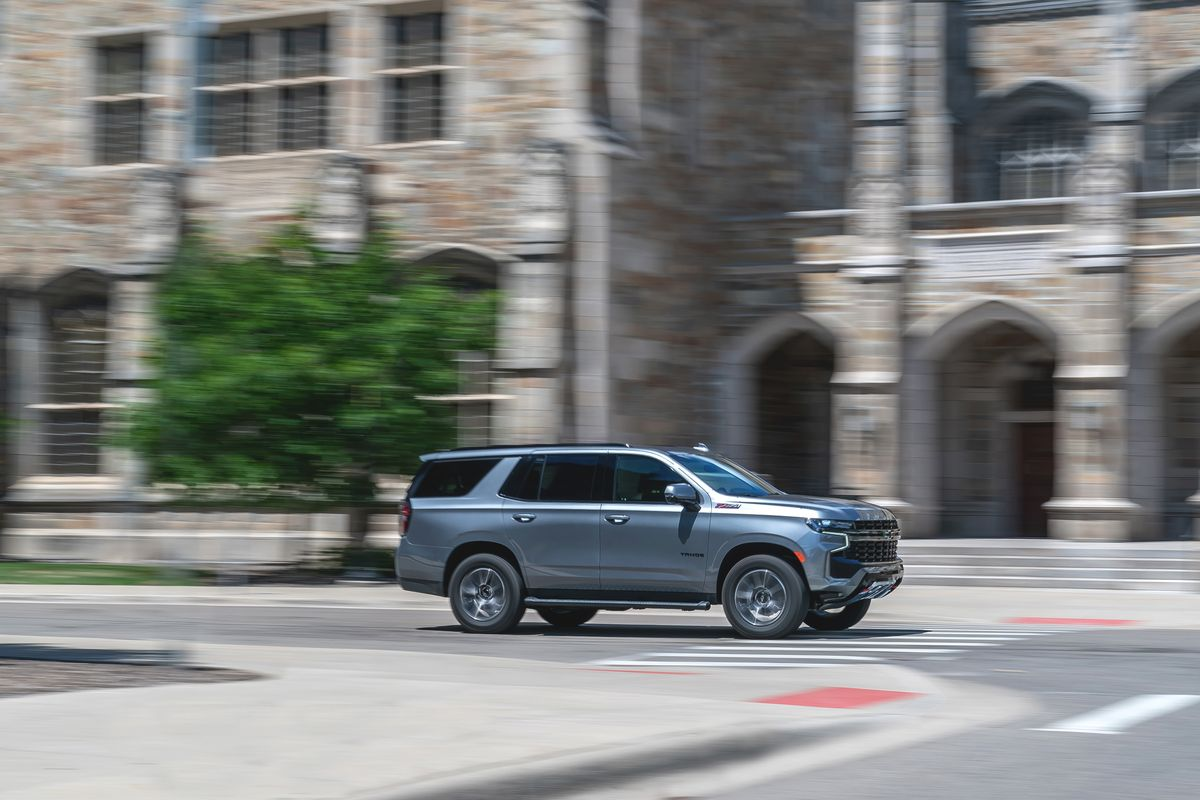 Tested 2021 Chevy Tahoe Goes Big Where It Counts
