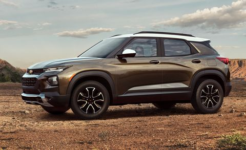 2021 Chevy Trailblazer Full Pricing Announced
