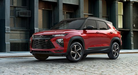 New Chevy Blazer >> 2021 Chevrolet Trailblazer New Small Crossover