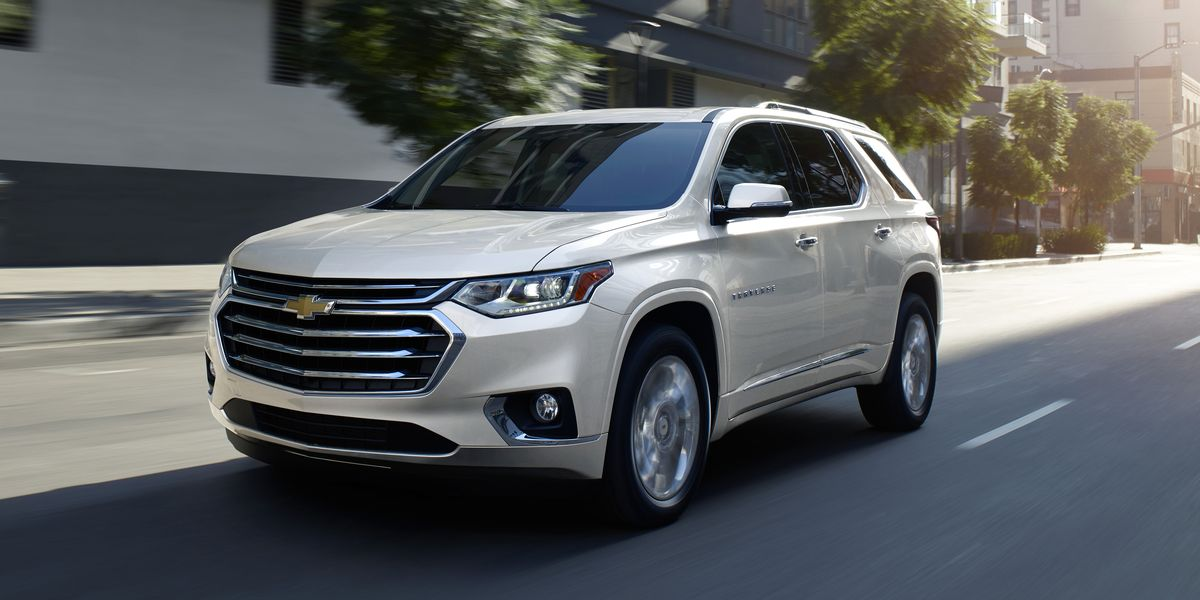 2021 Chevrolet Traverse Review Pricing And Specs