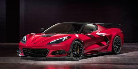 Corvette Z06 rendering