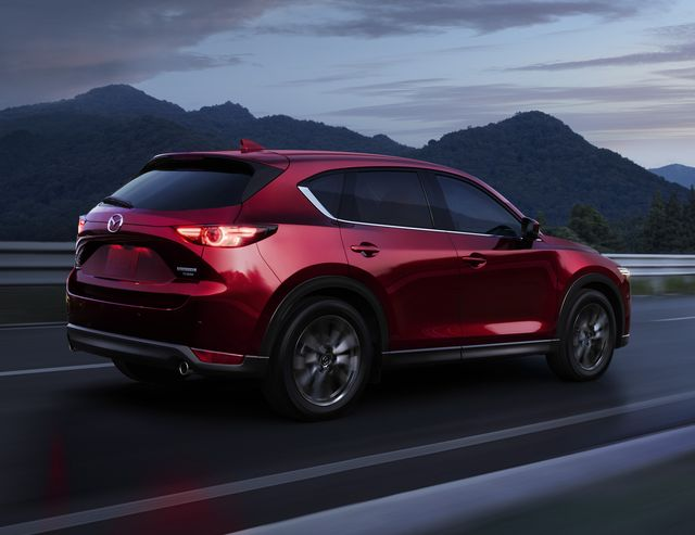 2021 mazda cx 5, carbon edition available