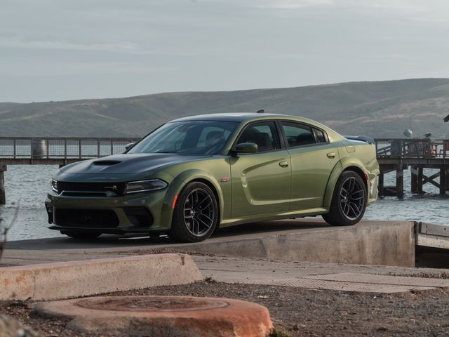 dodge charger scat pack green 1 Dodge Charger Review, Pricing, and Specs