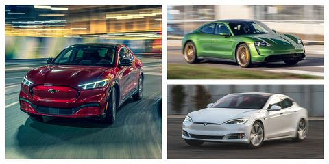 2021 evs with the most range