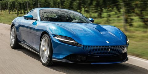 2021 Ferrari Roma Review Pricing And Specs