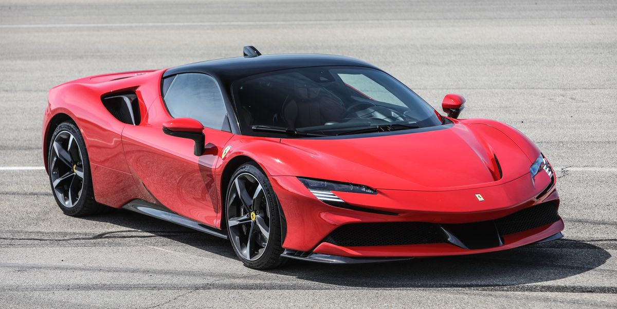 2021 Ferrari Sf90 Stradale Spider Review Pricing And Specs
