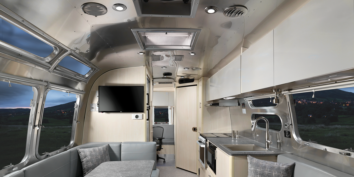 Airstream's Latest Travel Trailer is Aimed at Nomadic Remote Workers