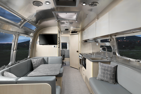 airstream flying cloud home office