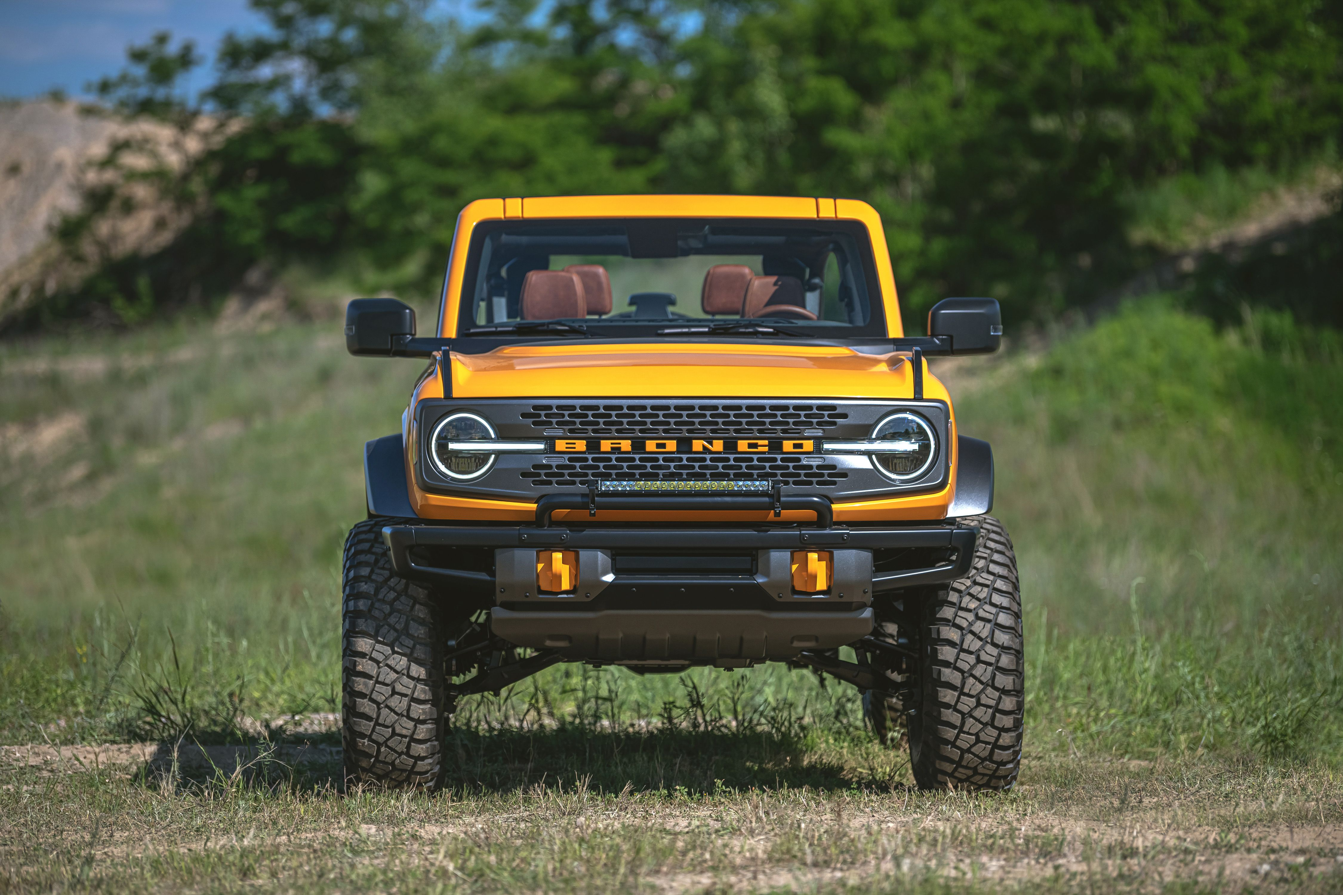 All The Off Road Goodies Available On The 2021 Ford Bronco