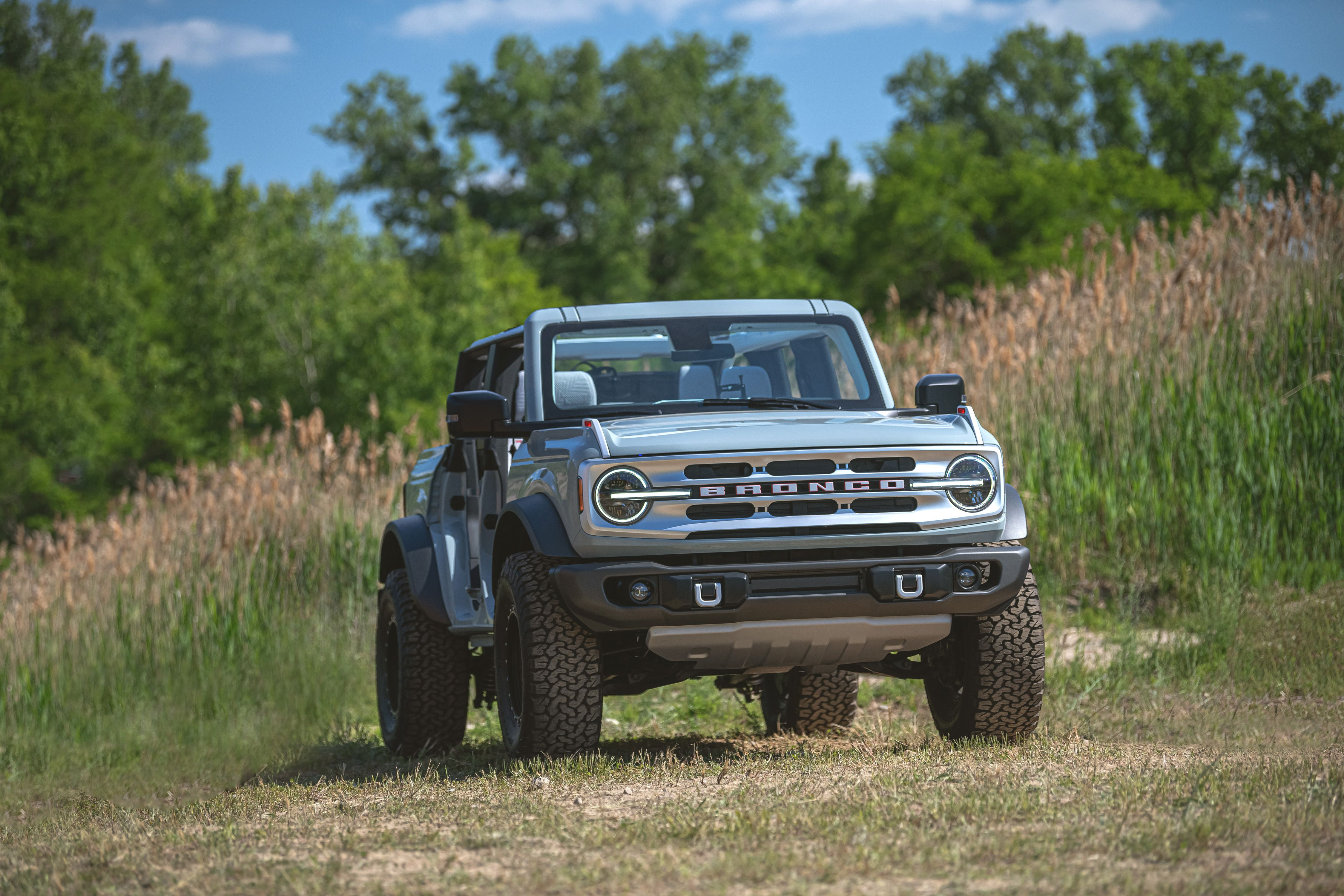 View Photos Of The 2021 Ford Bronco 4 Door