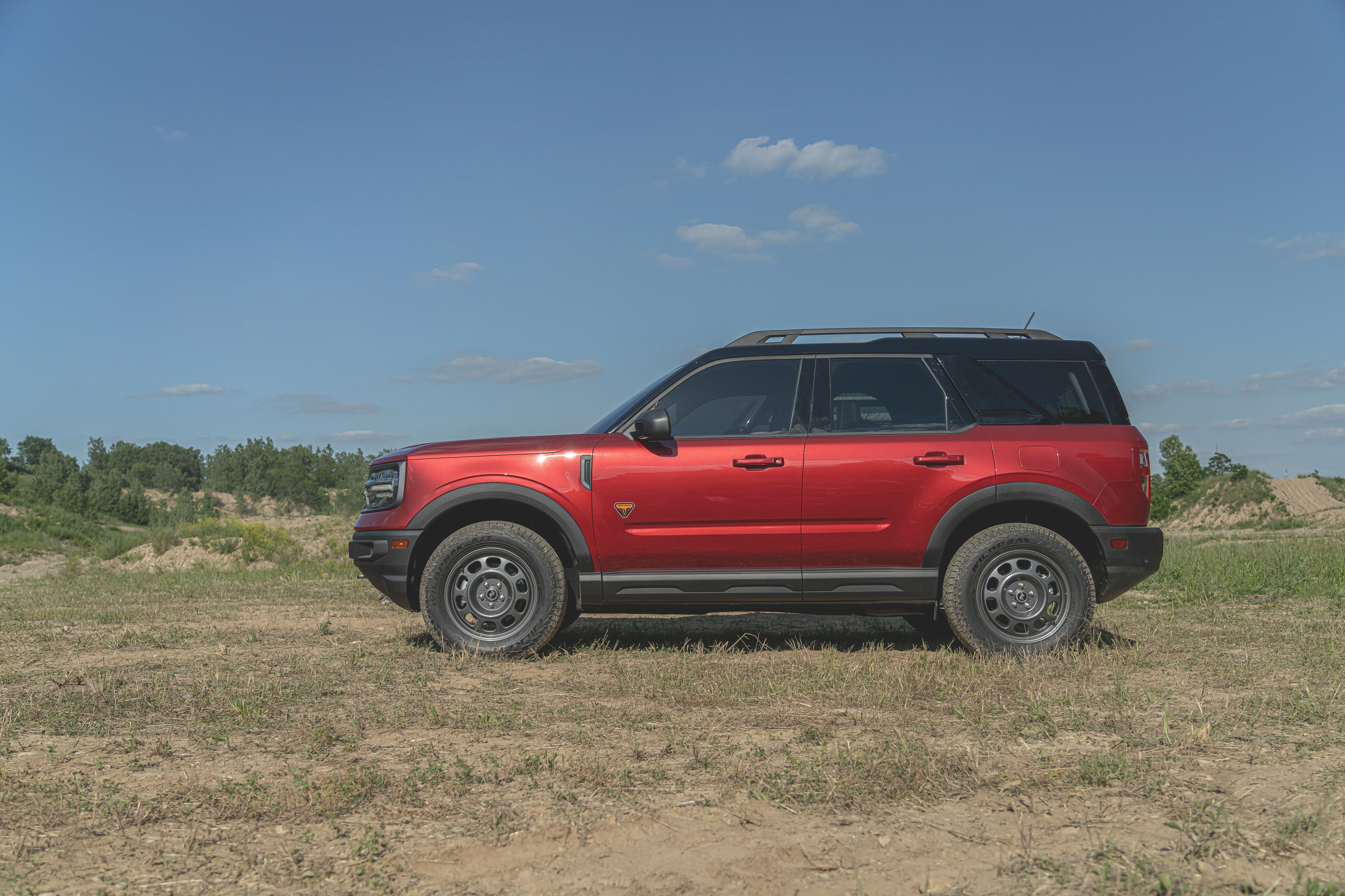 View Photos Of The 2021 Ford Bronco Sport
