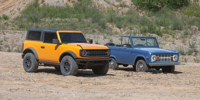 2021 ford bronco vs 1966 bronco