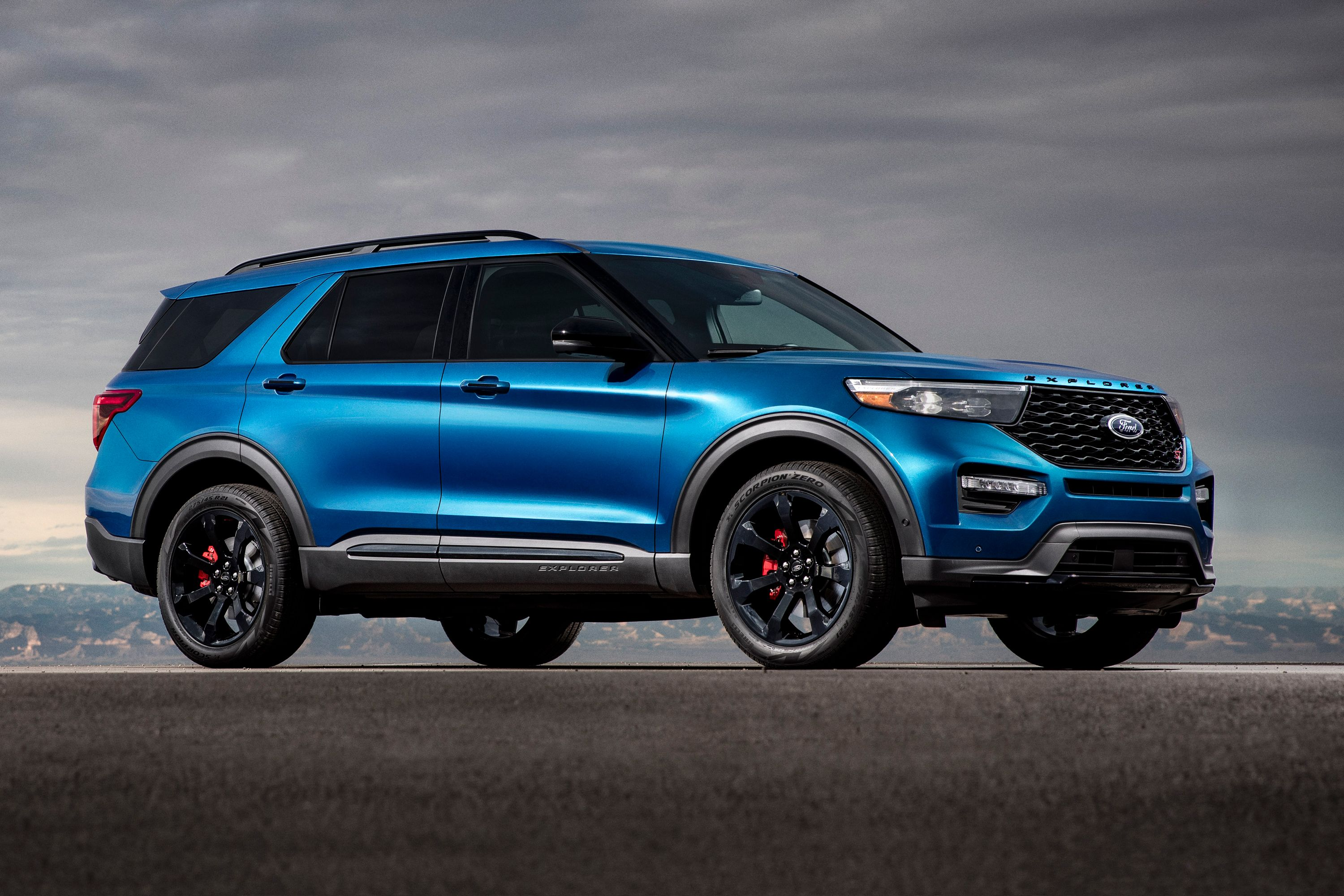 2021 The Ford Explorer Spy Shoot
