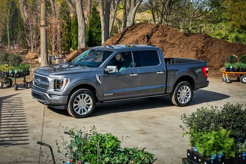 2021 fordf150 with onboard scales
