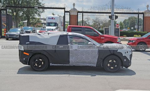 2021 Ford Mach E Is Ford's First Electric SUV >> Ford S Mustang Inspired Mach E Electric Suv Steps Out In Prototype