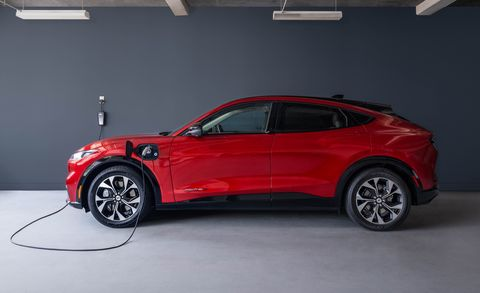 2021 ford mustang mach e