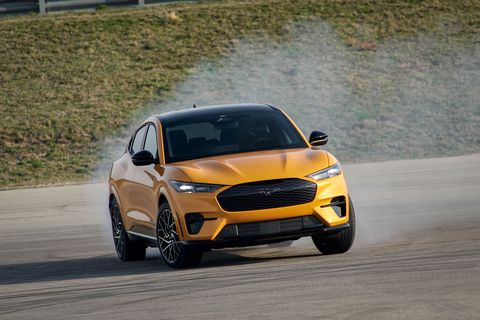 2021 ford mustang mache gt
