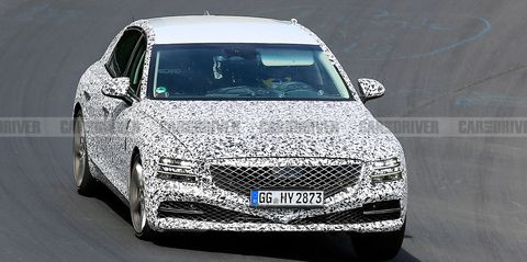2021 Genesis G80 Sedan Spied with Wildly Different Styling