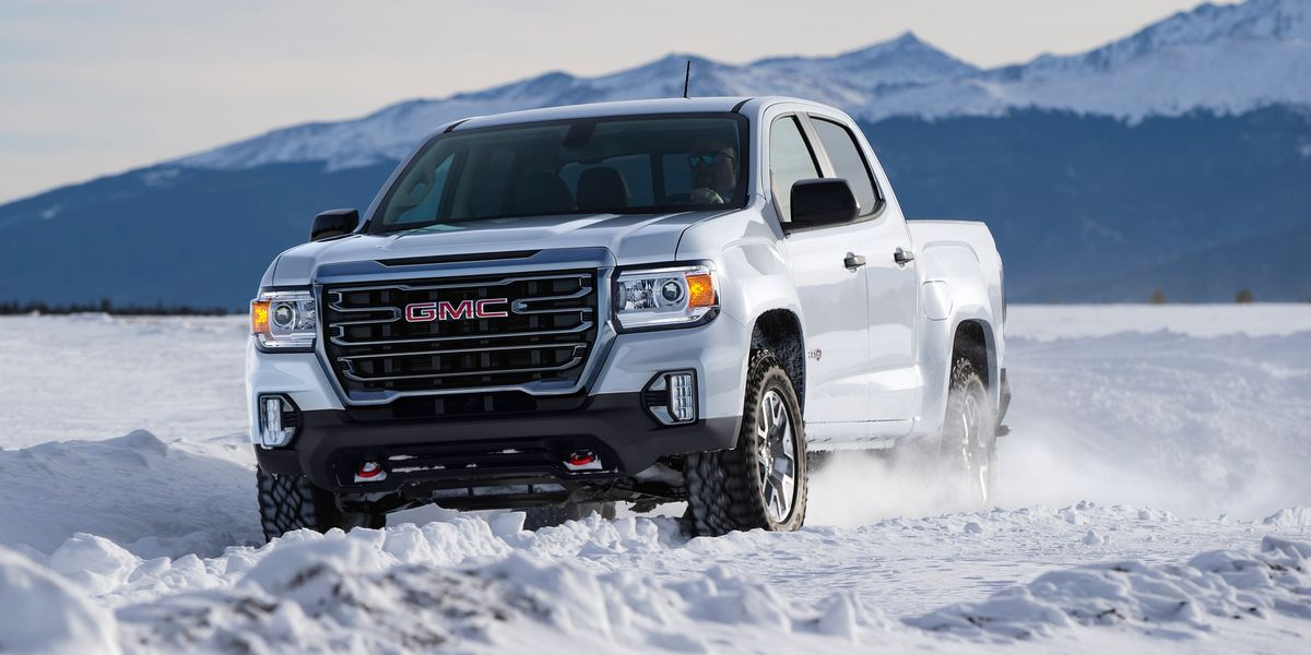 2021 GMC Canyon Adds Off-Road AT4 Model
