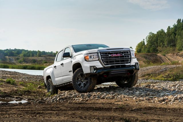 2021 gmc canyon at4 off road performance edition takes canyon's capability to a higher level with increased protection and maneuverability