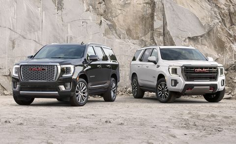 2021 gmc yukon and yukon xl
