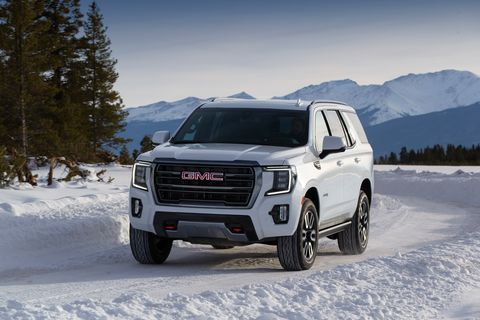 New 2021 GMC Yukon, Yukon XL Get AT4 Off-Road Trim and ...