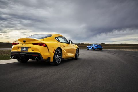 2021 Toyota GT Supra 2.0 and 3.0 revealed