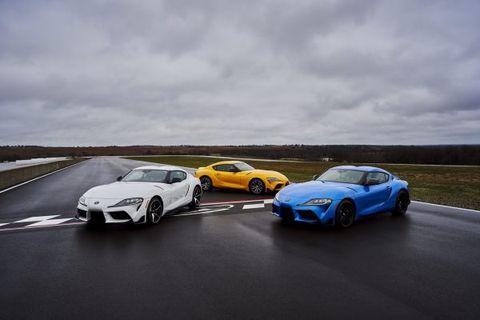 2021 Toyota GT Supra 2.0 3.0 family