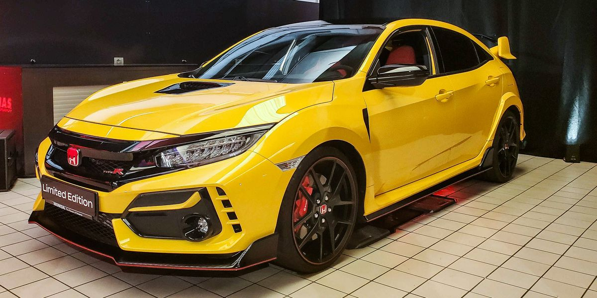 For 2021, Honda Civic Type R Adds a Race-Focused Limited Edition
