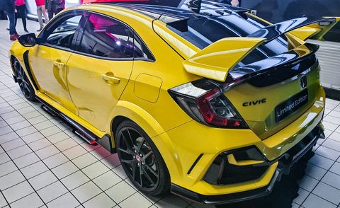 For 2021, Honda Civic Type R Adds a Race-Focused Limited ...