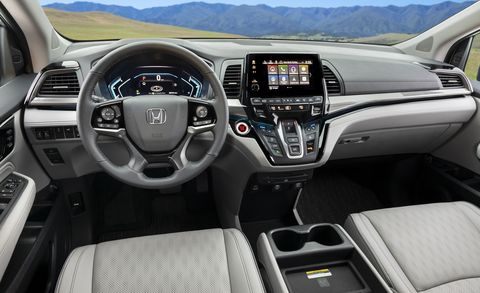 Honda odyssey 2021 года