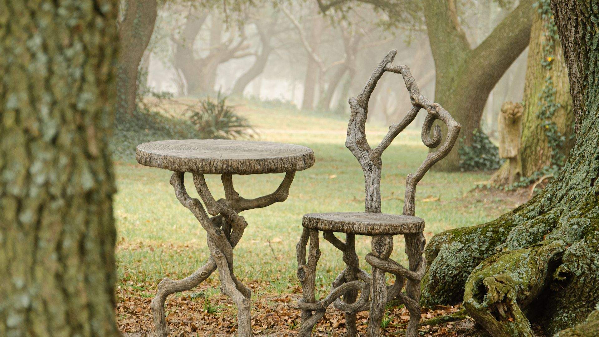 Faux Bois Furniture: Watch Diane Husson Create Wood-like Furniture From  Concrete