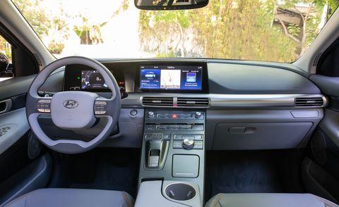 Hyundai Nexo 2021 интерьер