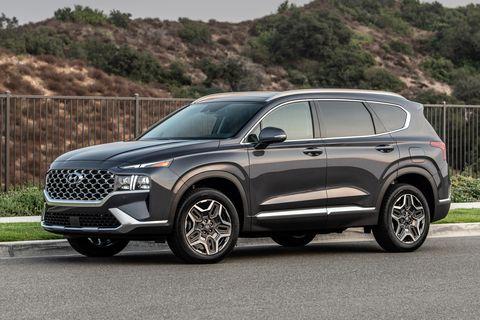 2021 Hyundai Santa Fe's New Powertrains Detailed ...