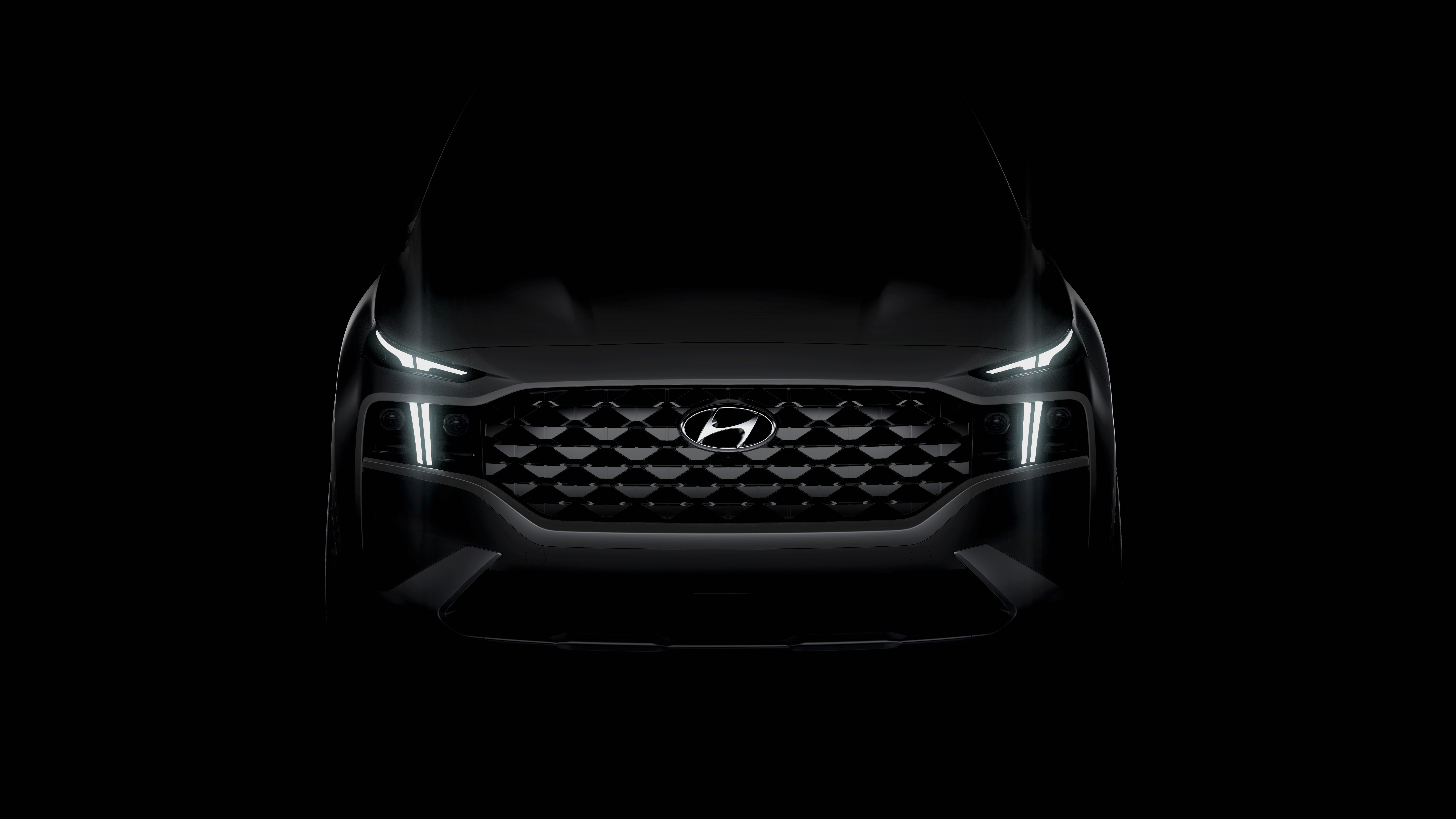 2021 Hyundai Santa Fe Will Get Styling Updates New Tech Features