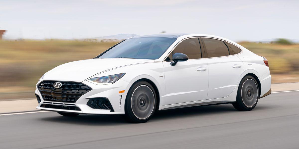 2021 Hyundai Sonata N Line Powers Up the Family Sedan