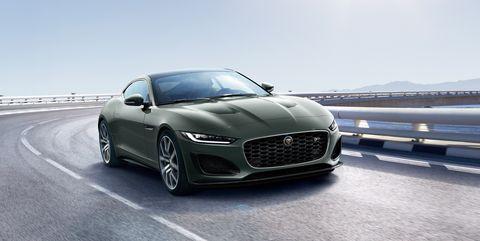 2021 jaguar f type heritage 60 edition