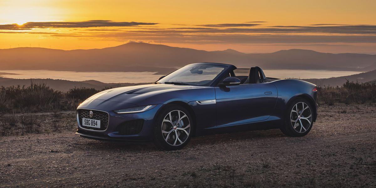 In-Depth Photos of 2021 Jaguar F-Type