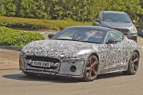 The Jaguar F-Type Is Getting a Major Facelift with Some Radical Changes