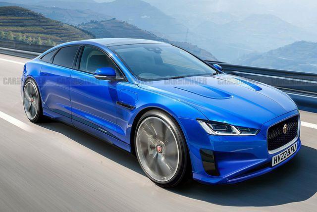 Jaguar Teases Its Upcoming Electric XJ