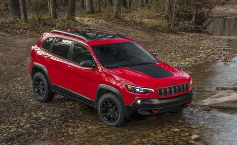 2021 jeep cherokee front