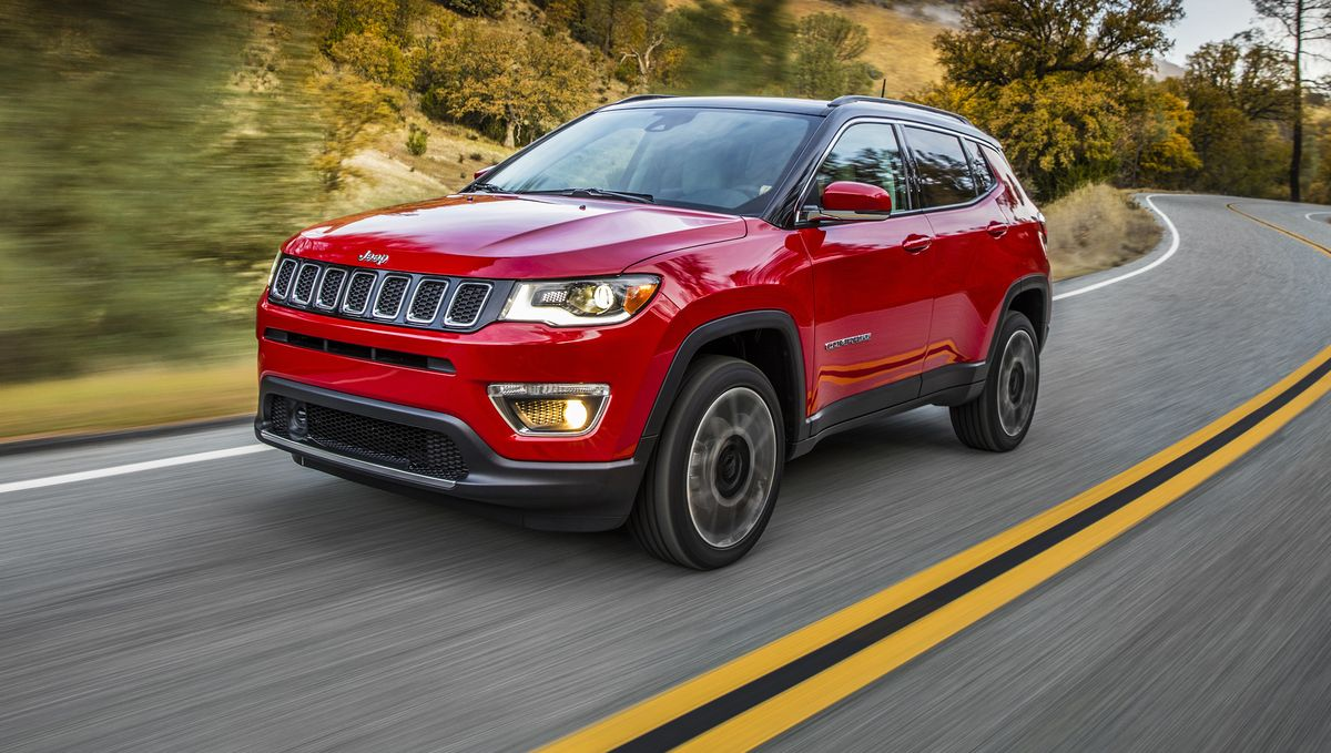 2021 Jeep Compass Front Exterior