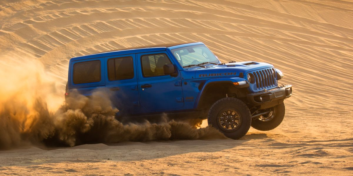 470-HP Jeep Wrangler Rubicon 392 Launch Edition Costs $75K