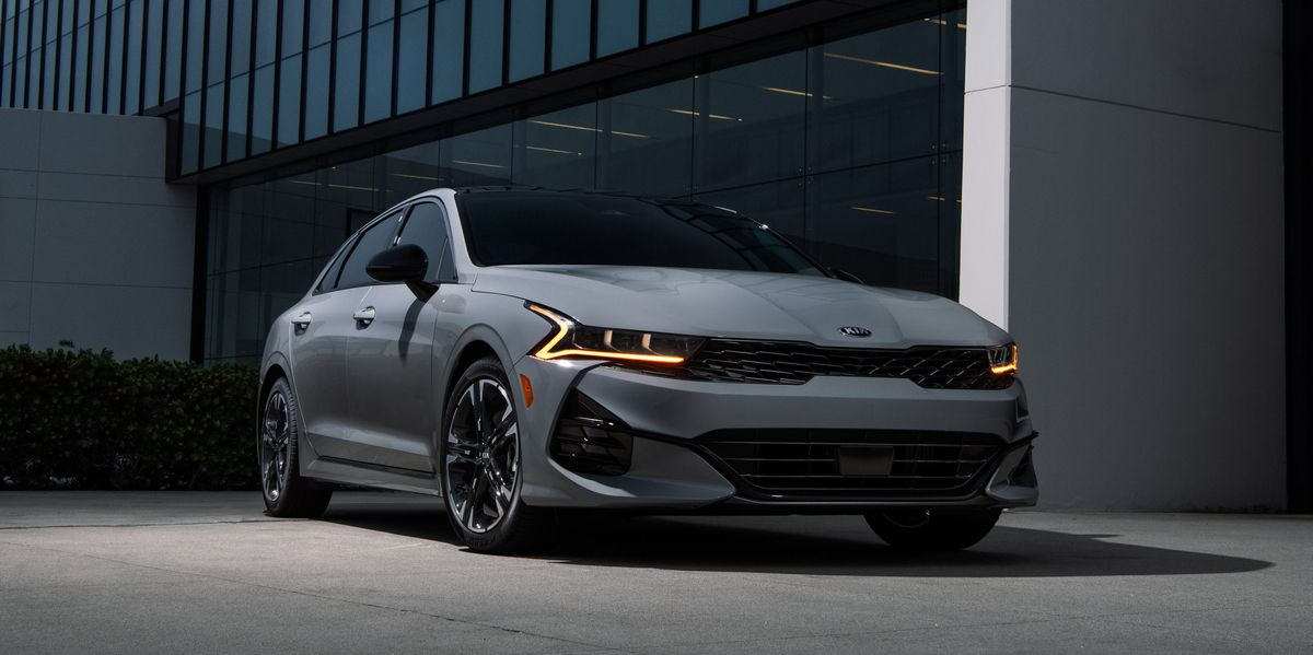 Good-Looking 2021 Kia K5 Sedan Priced Starting at $24,455