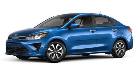 2021 kia rio s sedan exterior