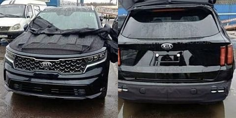New 2021 Kia Sorento SUV Exposed Ahead of Its Debut