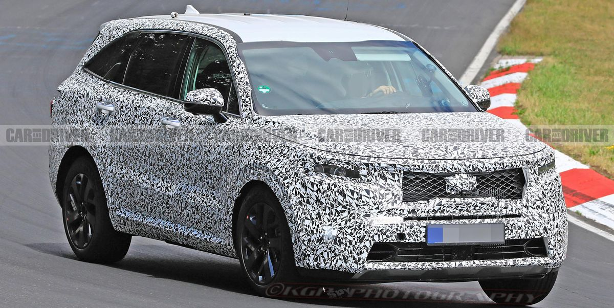 2021 Kia Sorento Crossover Spied – New Three-Row SUV