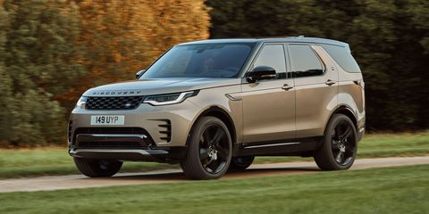 2021 land rover discovery front