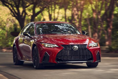 take a look at the third generation 2021 lexus is