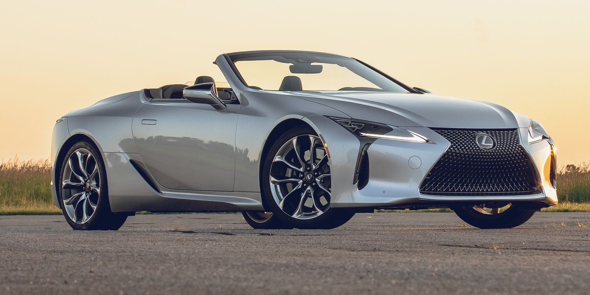 2021 Lexus Lc500 Convertible Makes A Fine Flagship